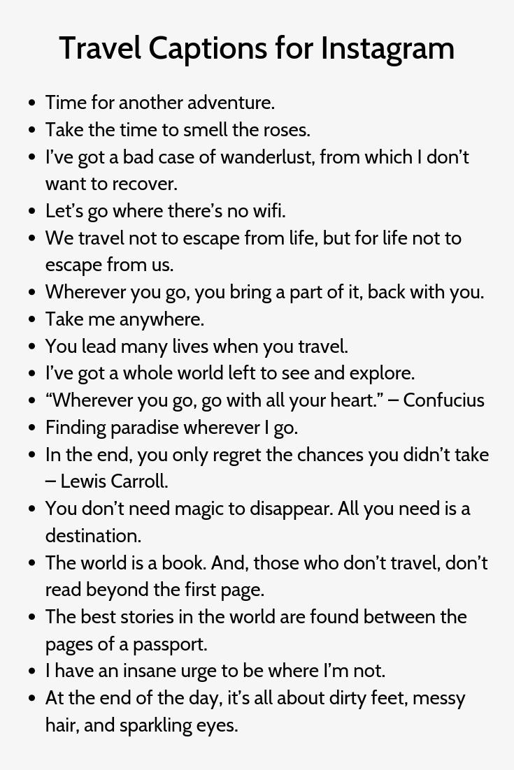 Travel Captions For Instagram2 Instagram Quotes Captions Instagram Quotes Instagram Captions Travel