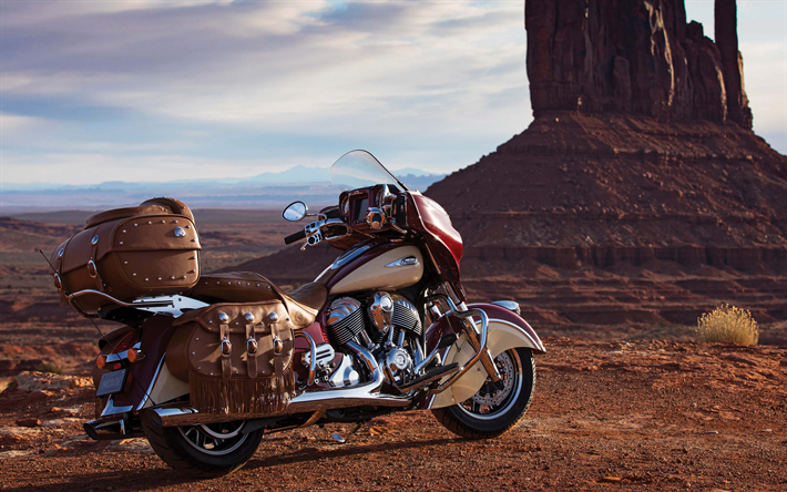 Download Wallpapers Indian Roadmaster Classic, 2018, 4k