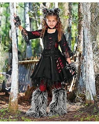 creepy werewolf costumes for ladies babies and girls