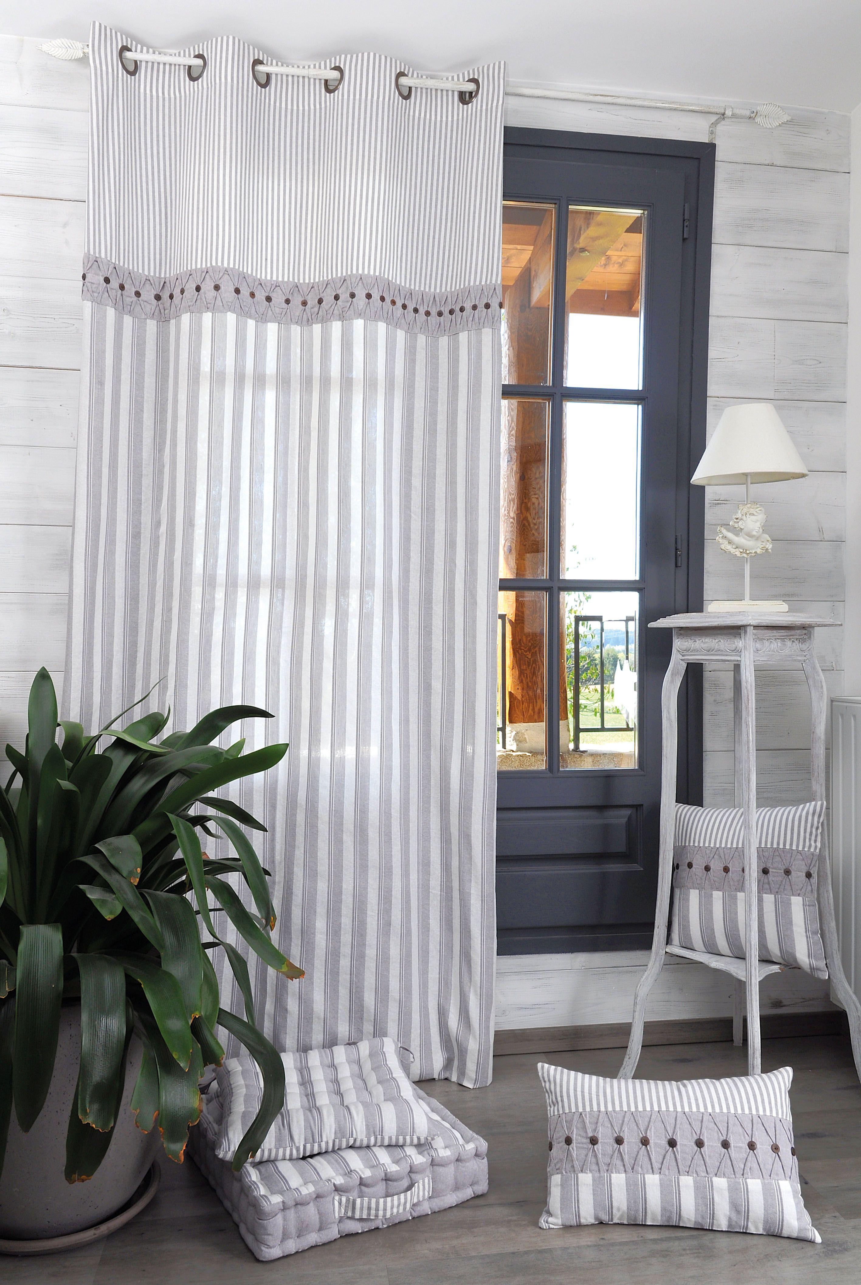 les rideaux au style romantique mon univers romantique pinterest les rideaux romantique. Black Bedroom Furniture Sets. Home Design Ideas