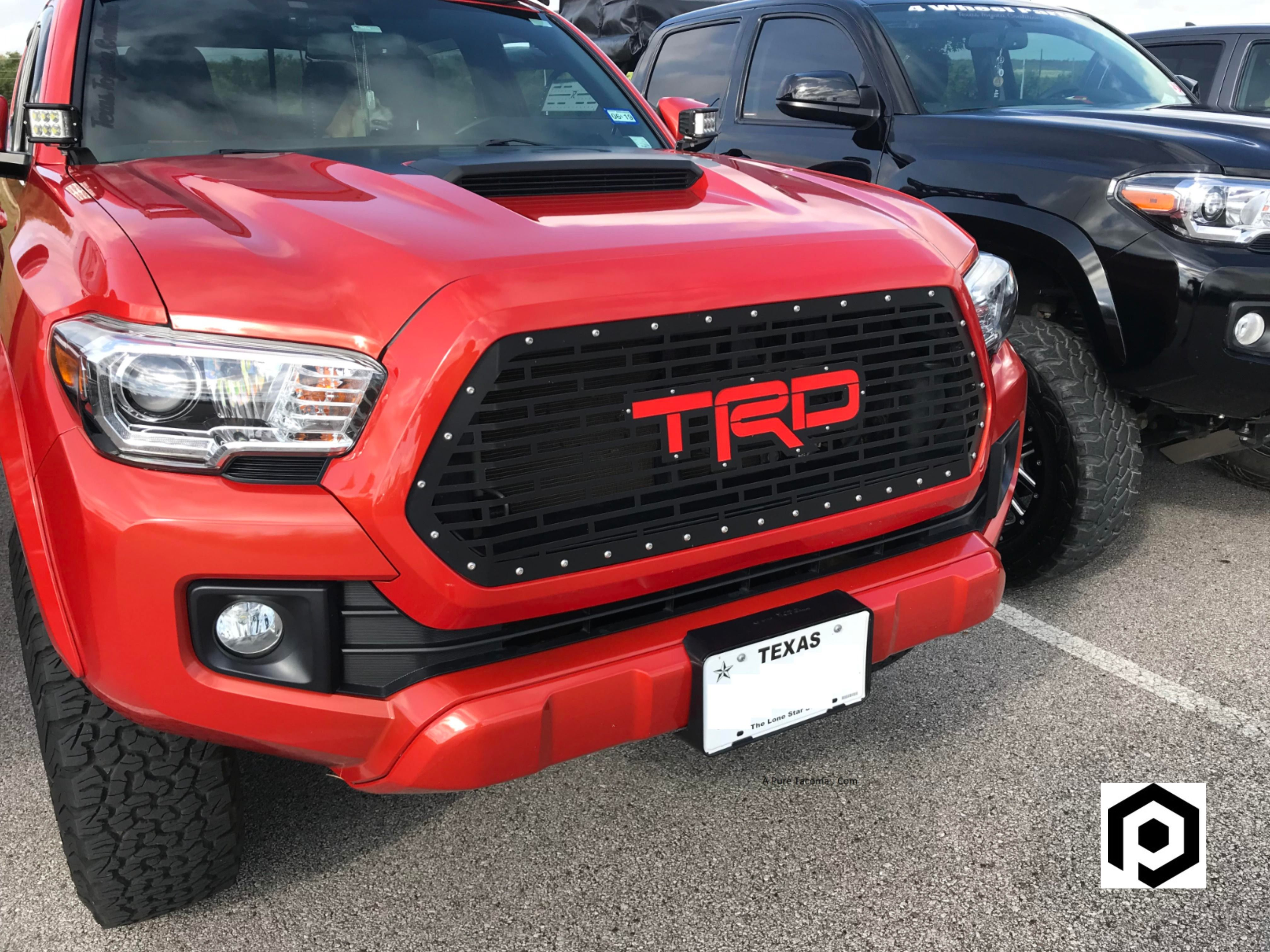Toyota Tacoma Grilles Inserts In 2020 Tacoma Accessories Toyota Tacoma Accessories Toyota Tacoma