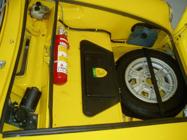 1969 Fiat 850 Spider Trunk The Fiat Forum Photo Gallery With
