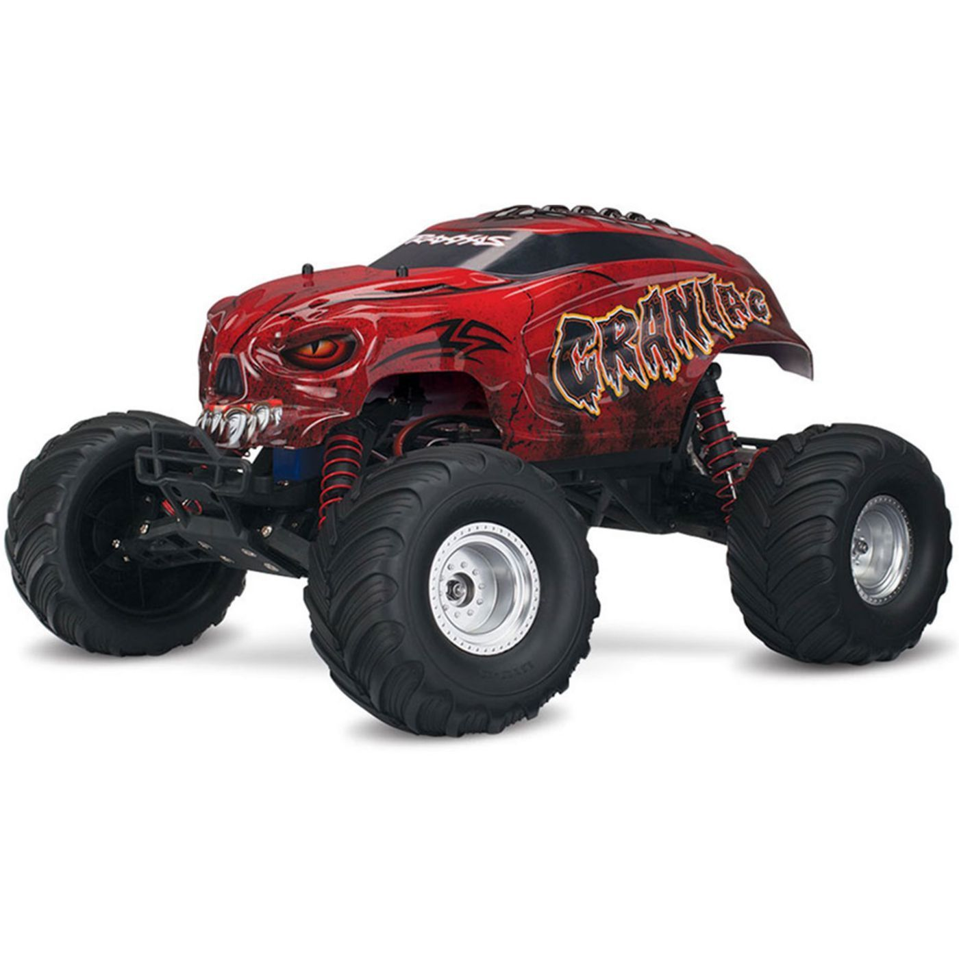 1/10 Craniac RTR Monster Truck, TQ 2.4GHz, Red Monster