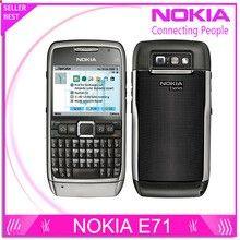 E71 100% Original Nokia E71 Mobile Phone 3G Wifi GPS 5MP Refurbished cellphone Unlocked E Series Smartphone Russian Keyboard //Price: $US $39.86 & FREE Shipping // #buychinaphone