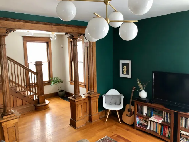 A Victorian House from the 1880s Is Now a Jewel-Toned Modern Gem
