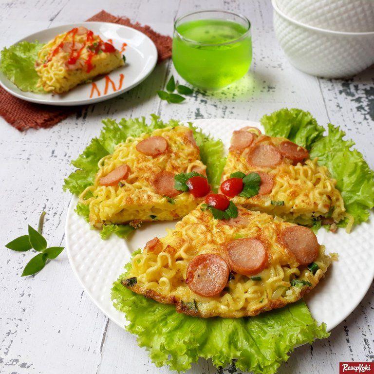 Omelet Mie Krispi Luar Lezat Gurih Resep Resepkoki Resep Resep Makanan Mie