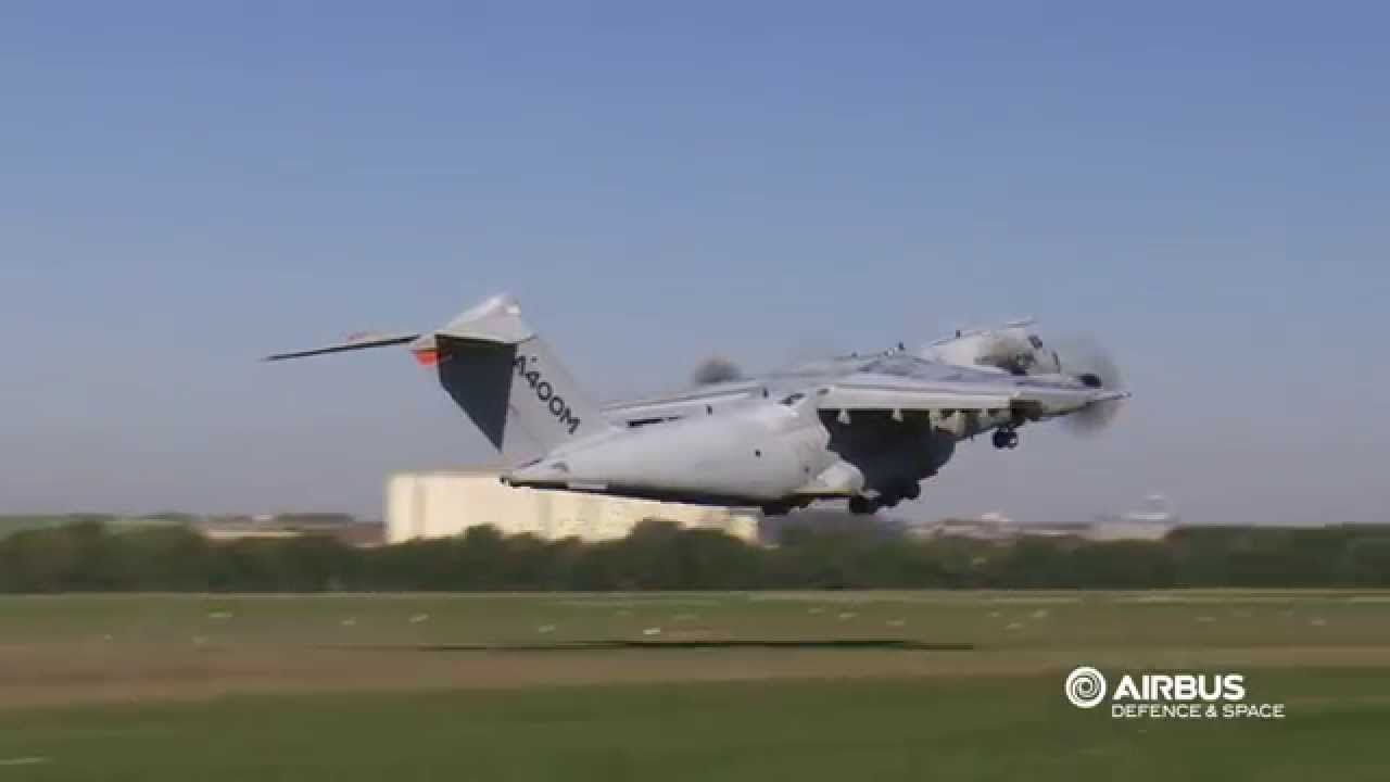A400M completes grass runway certification tests. Airbus Defence and Space has successfully completed certification testing of the A400M new generation airlifter on a grass runway. Tests took place over a three week period at the airfield of Écury-sur-Coole in France in September and examined the aircraft's behaviour on grass and natural soil runways.