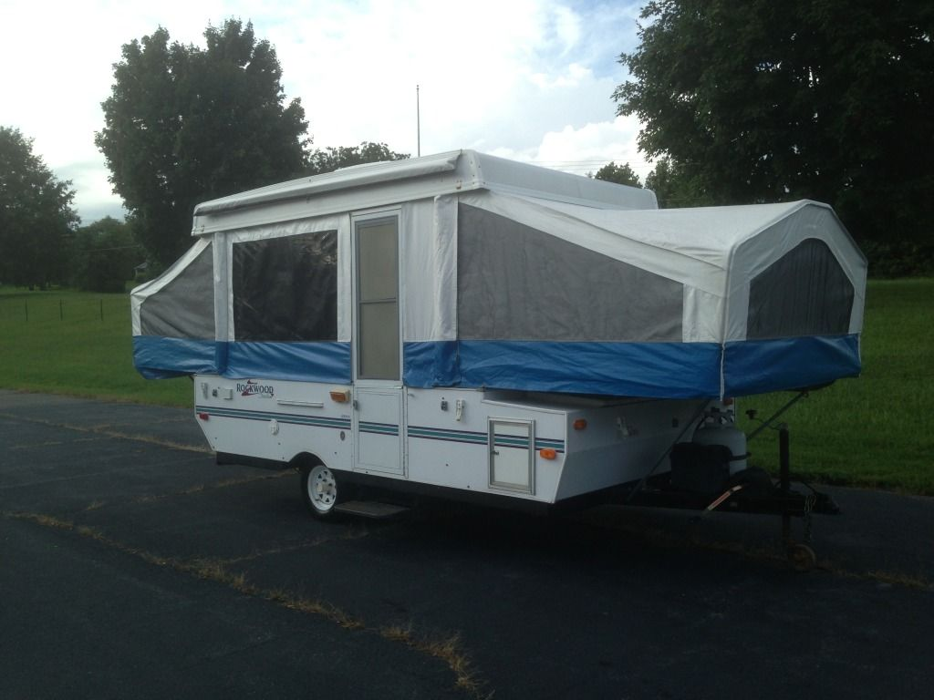 2000 rockwood freedom 1910 pop up tent travel trailer camper w ac in nc