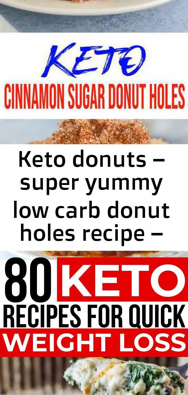 Keto Donuts Yummy low carb donut holes everyone will love! No need to give up do…