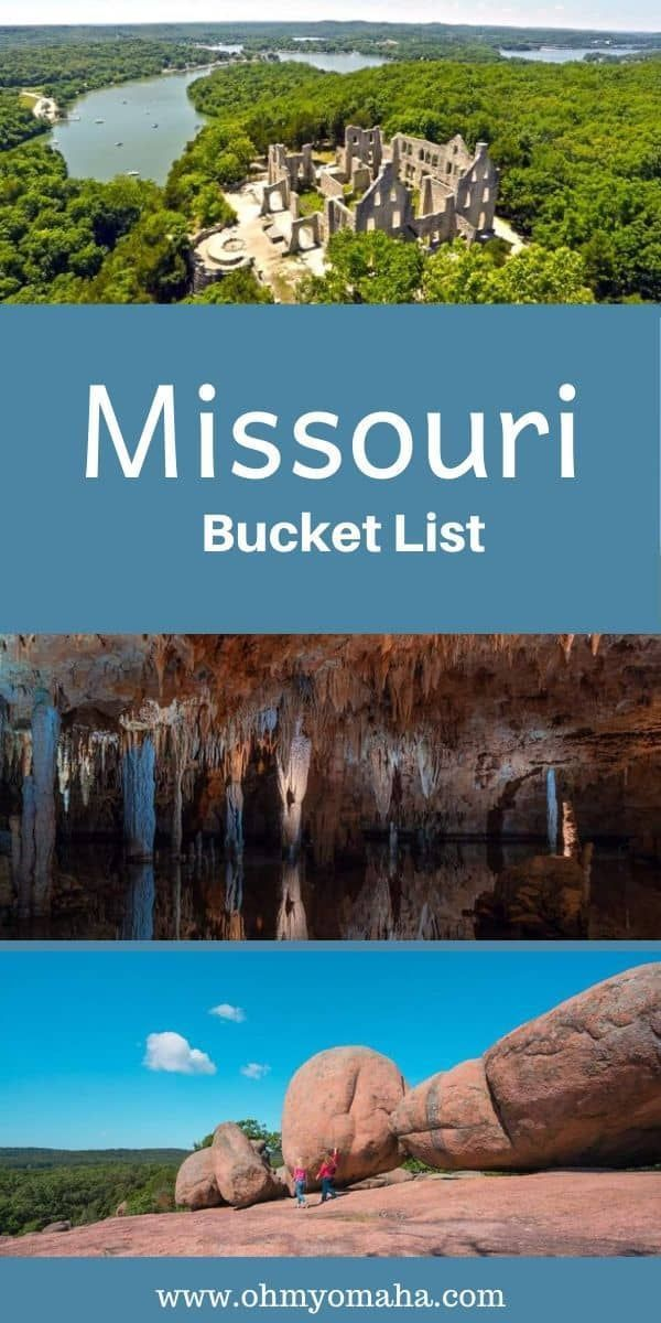My Missouri Bucket List - Oh My! Omaha