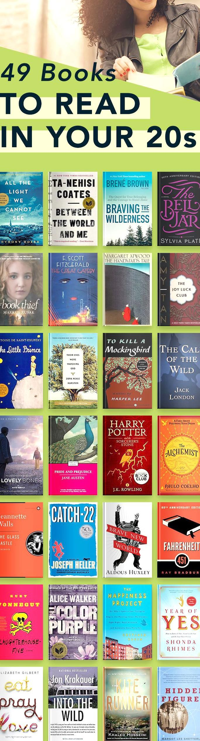 Great Books To Read In Your 20s For Women And Men Including A Mix Of Books With Romance Self He In 2020 Books To Read In Your 20s Books To Read