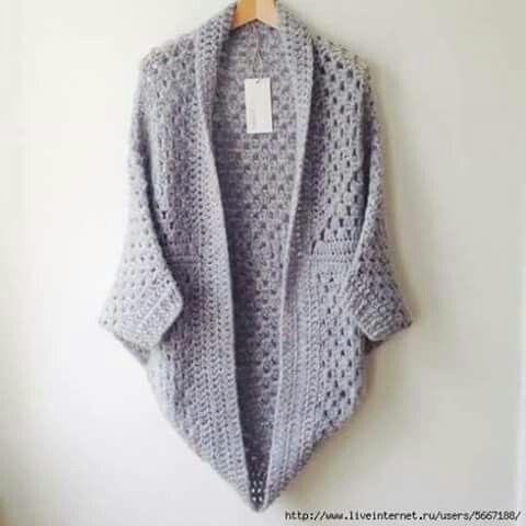 Pin von Romy M Farber auf Blusas de croche | Pinterest