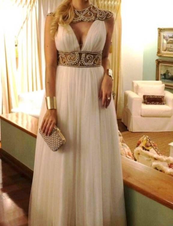 Pra Cair Pra Trás Agi Suknia Grecka Em 2019 Vestidos
