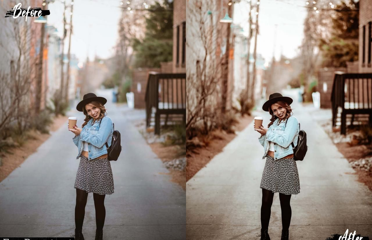 5 Matte Day Portrait Lr & Ps Presets   Photoshop presets