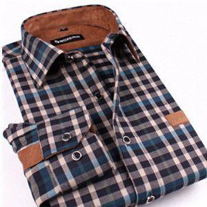 Long Sleeve Checkered Shirt - Several colors