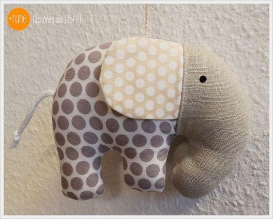 Tag 4 - *Nane - Ellifant nähen | Nähen | Pinterest | Elefant nähen ...