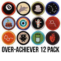 I love these merit badges!