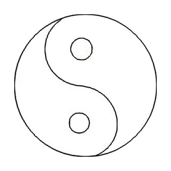 Ying and yang. Madasahatter. Collab template. liked on
