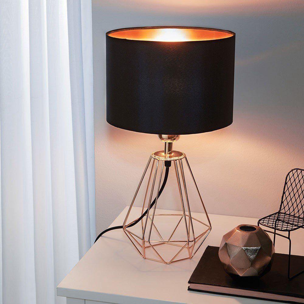 Licht Trend Tischleuchte Archaic Im Vintage Look Schwarz Kupfer Jetzt Bestellen Unter Https Moebel Ladendirekt De Lampen Ti Vintage Table Lamp Eglo Lamp