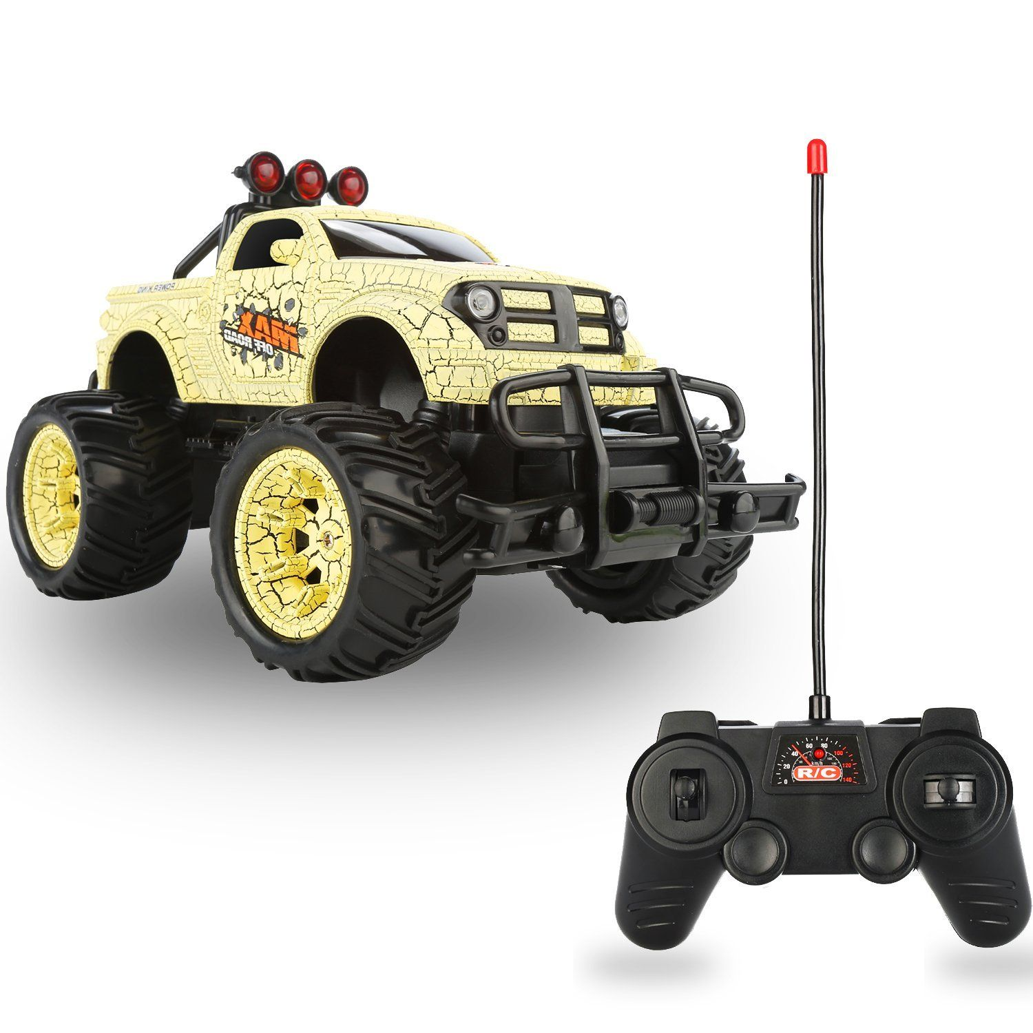 QuadPro Remote Control Monster Truck ONLY 21.99