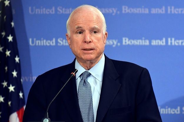 Sen. John McCain Has Been Diagnosed With Brain Cancer