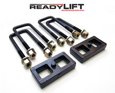"readylift 1"" Chevy GMC rear block kit 66-3051 CHEVY CK 1500 1988-1998, 2WD & 4WD, 1"" BLOCK KIT #ReadyLIFT"
