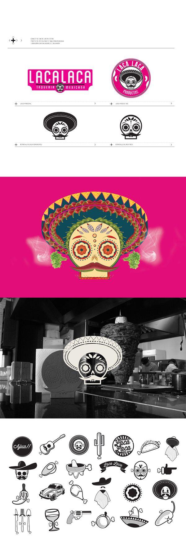 LACALACA - TAQUERÍA MEXICANA on Branding Served