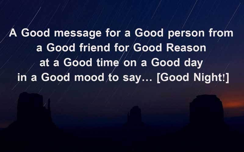 Good Night Quotes Night Messages For Friends And Family 8 Good