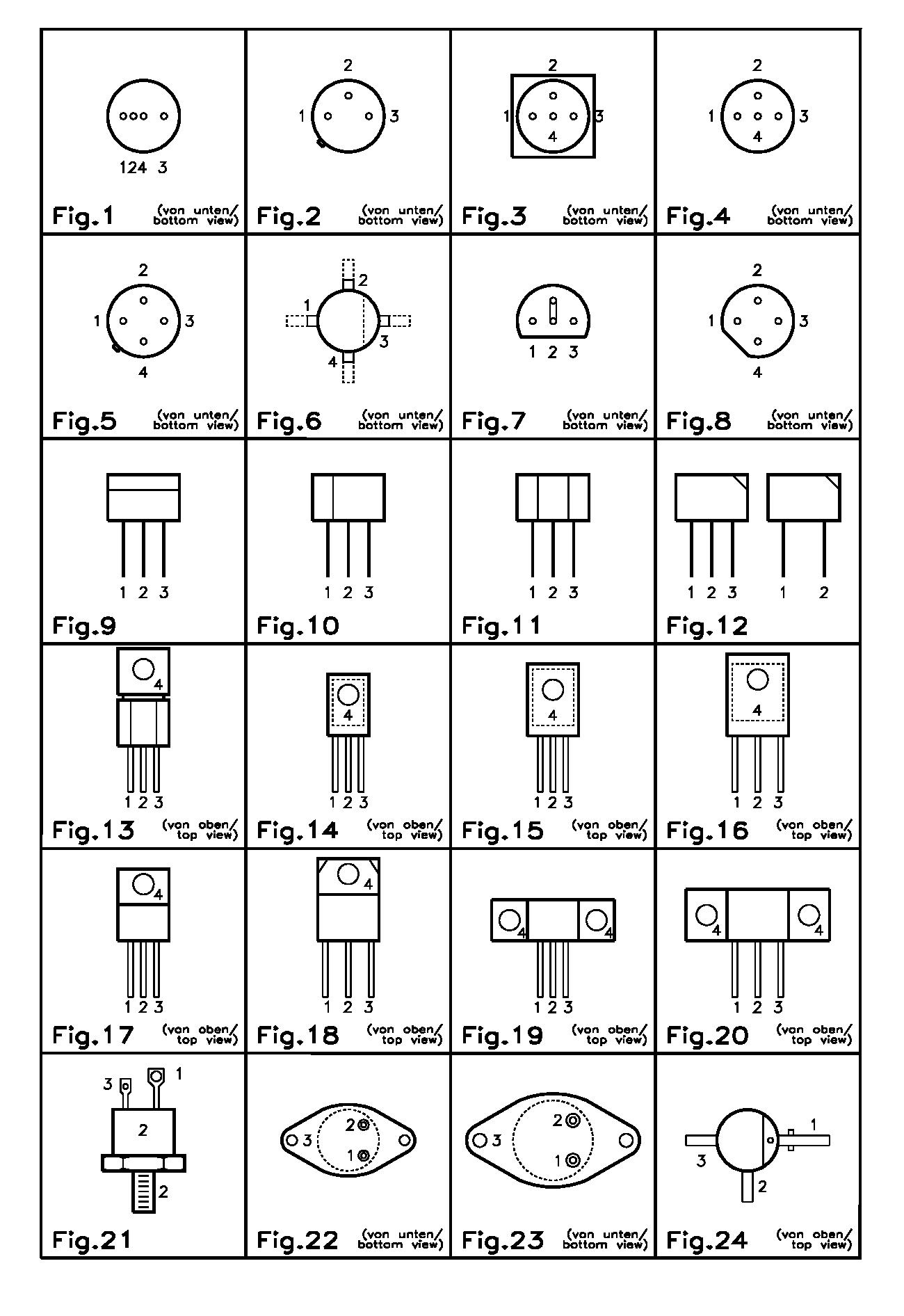 Vrt Comparsion Table For Semiconductors Eca Online Shop Design Circuits Vergleichstabellen Transistoren Cross Reference