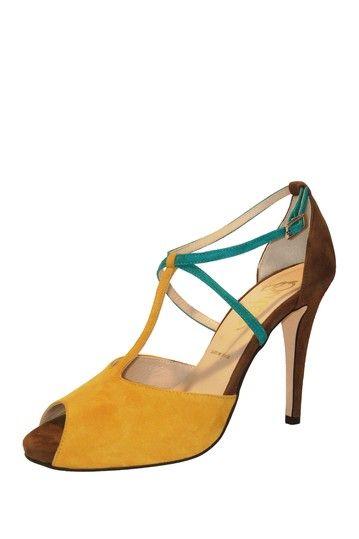 Butter Pistol Colorblock Platform Sandal...please get on my feet!