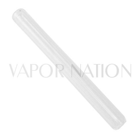 """http://www.vapornation.com/magic-flight-glass-stem.html Magic Flight Launch Box Medium 3"""" Straight Stem  This 3"""" glass straight stem is made specifically for the Magic Flight Launch Box. The stem extends the distance from the heating element to your mouth reducing the temperature of the vapor providing a slightly cooler draw.  This pyrex glass stem designed specifically for the Launch Box provides a clean pure draw."""