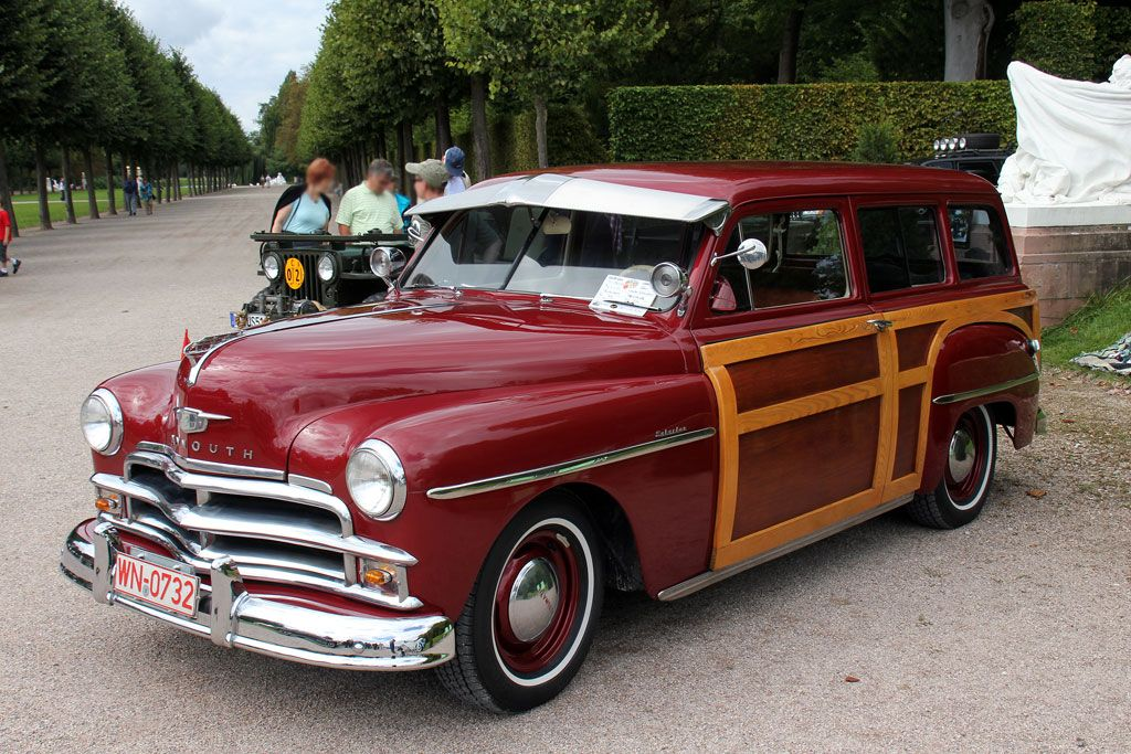 plymouth suburban Description 1950 Plymouth Woody