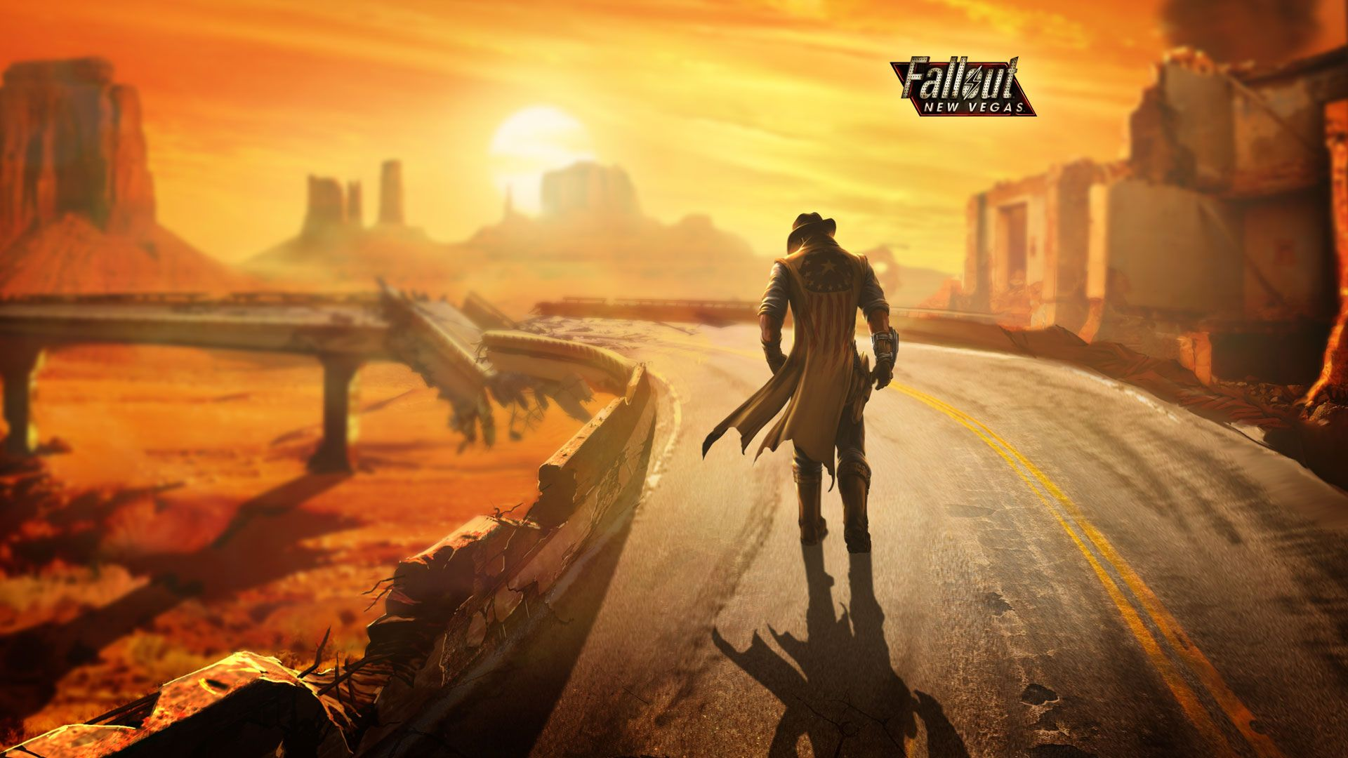 The Lonesome Road I Nuke Everyone Ncr And Legion Fallout