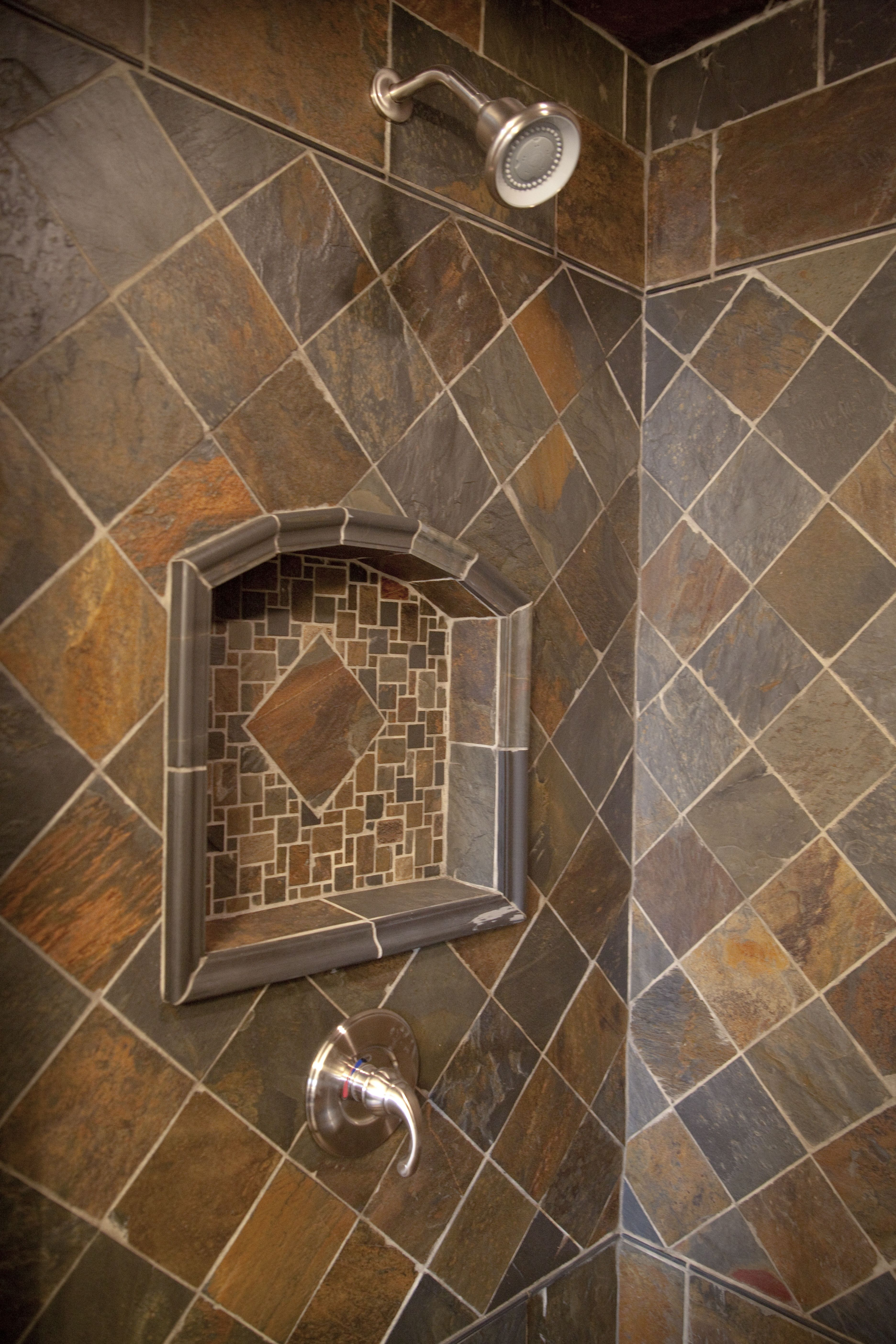 Simply Beautiful Bathrooms: Slate Shower By Simply Beautiful Remodeling, LLC