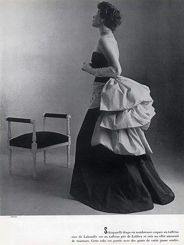 Schiaparelli 1951 Evening Gown, Philippe Pottier
