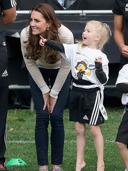 Kate Middleton's Cutest Moments with Kids: Photos