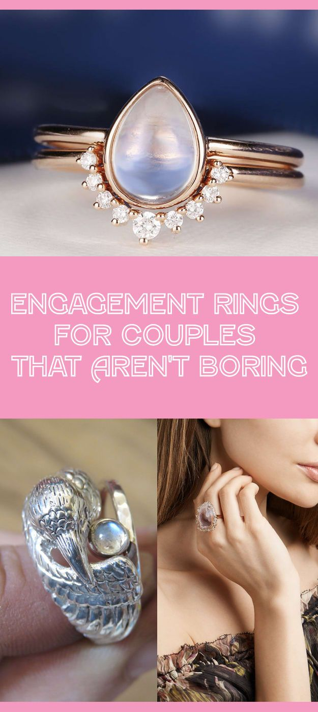 31 Engagement Rings For People Who Aren\'t Boring | BuzzFeed, Ring ...