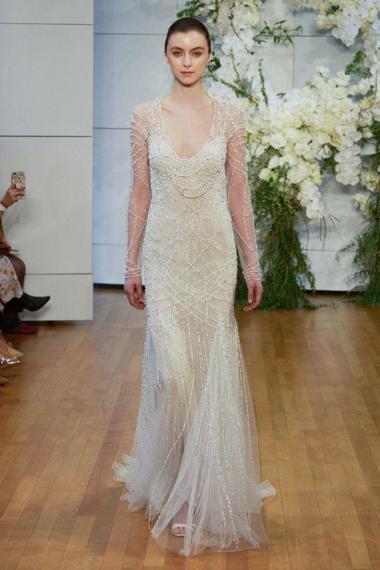 FASHION // 2018 BRIDAL WEEK   Bridal fashion week, Monique lhuillier ...