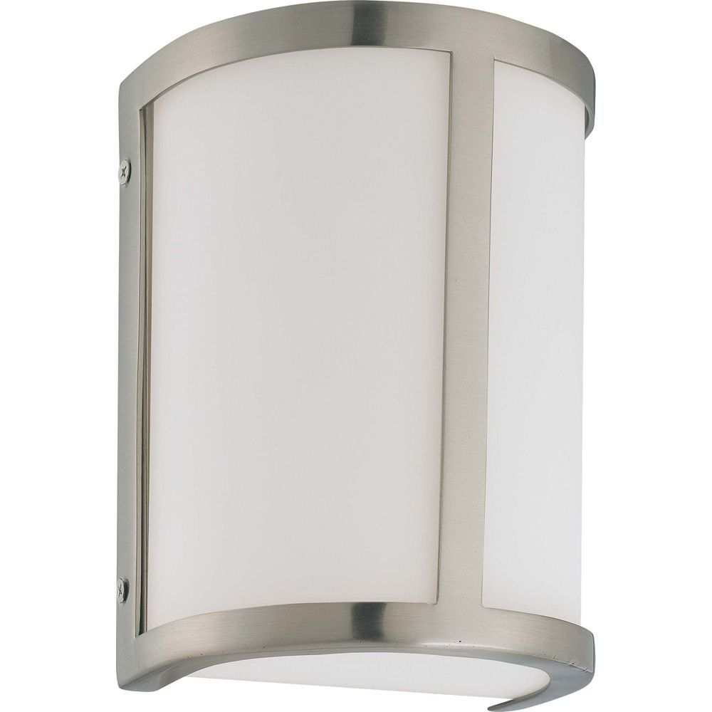 Odeon 1 Light Wall Sconcewith Satin