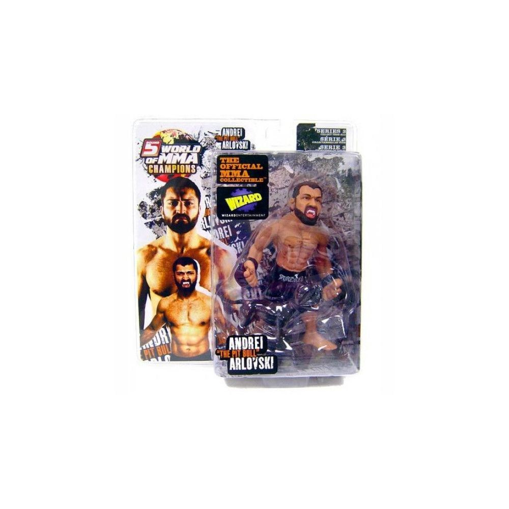 With Maximus UFC World of MMA Champions Series 3 Andrei Arlovski Action Figure
