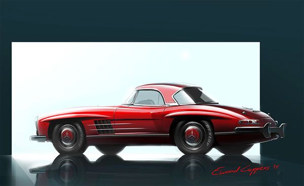 Stus Done To Learn Work With Color Composition Material Expression Etc And Of Course About The Cars Brands