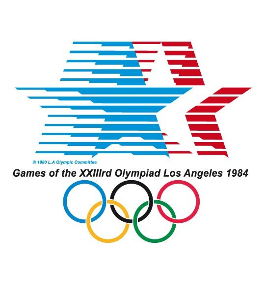 Olympic logo // Los-Angeles 1984 Summer Olympics