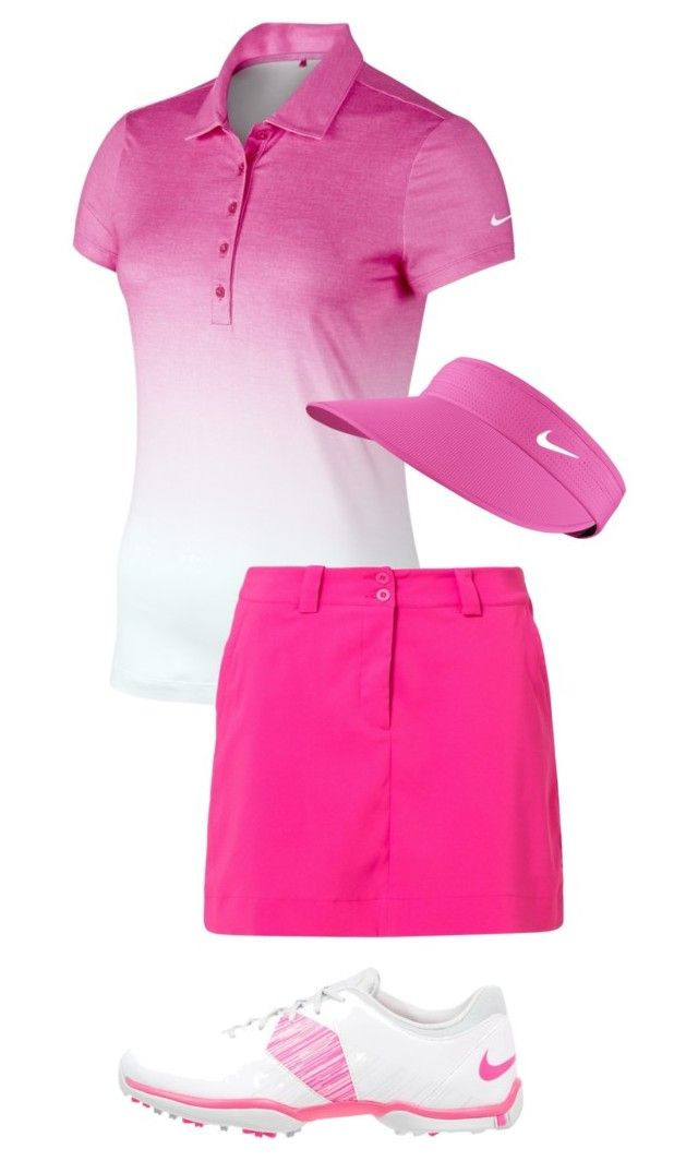 """""""golfing day"""" by lilypackard ❤ liked on Polyvore featuring Nike Golf"""