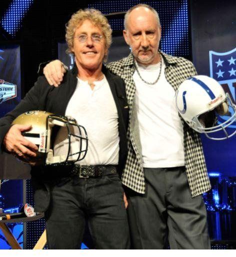 Pete townshend & Roger daltrey