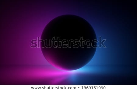 3d Render Black Ball In Neon Light Abstract Background Blank Sphere Globe Model Laser Show Esoteric Energy Abstra Neon Painting Neon Lighting Laser Show