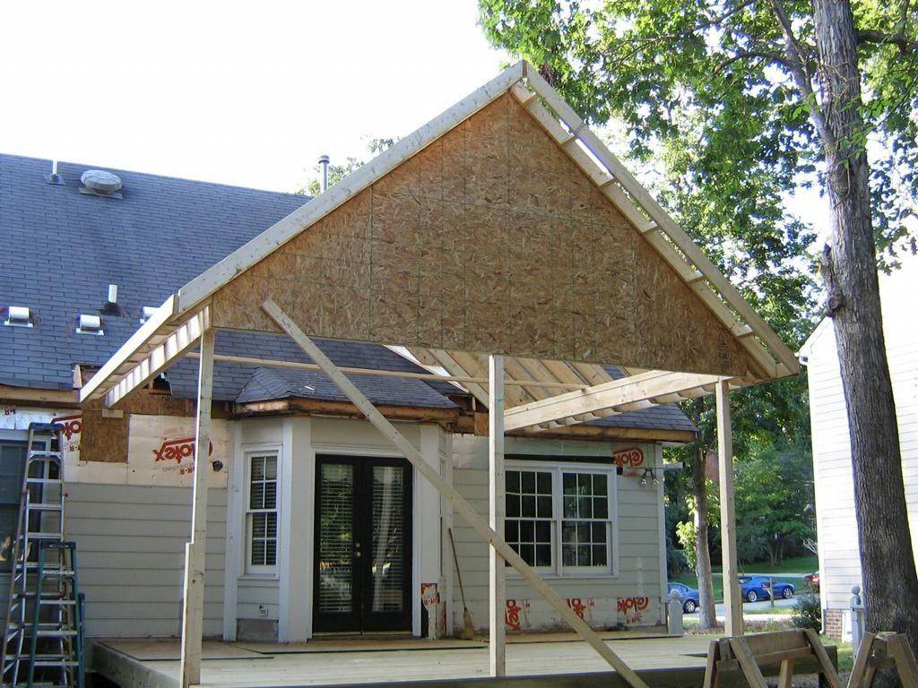 Fresh Gable Porch Roof Framing SK13o1 Porch roof, Porch