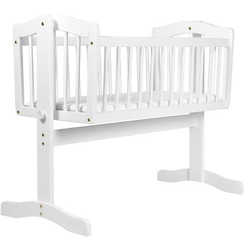 Cambridge Swinging Crib In White Crib Swing Baby Bed Nursery Furniture
