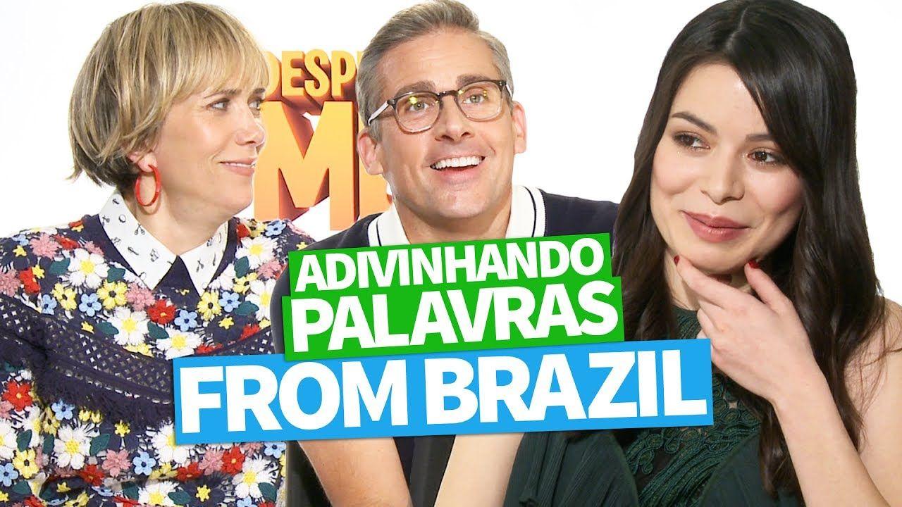 ADIVINHANDO PALAVRAS FROM BRAZIL (Miranda Cosgrove, Steve Carell e Krist...
