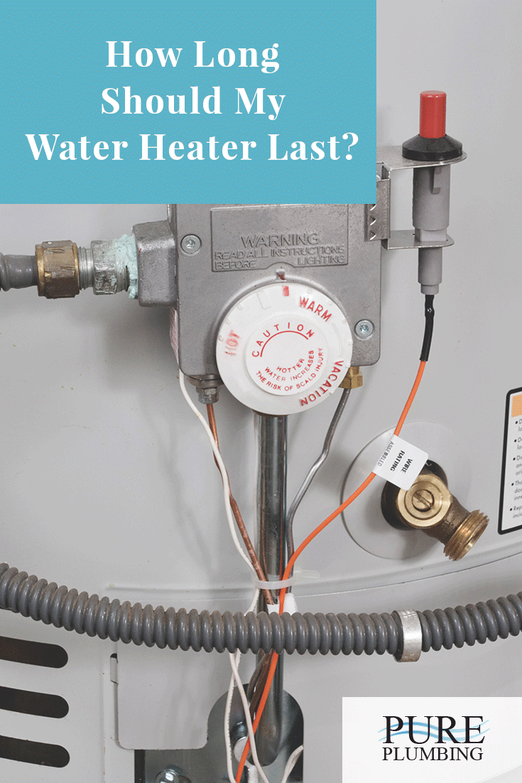 medium resolution of on average the lifespan of a traditional water heater should be up to 12 years