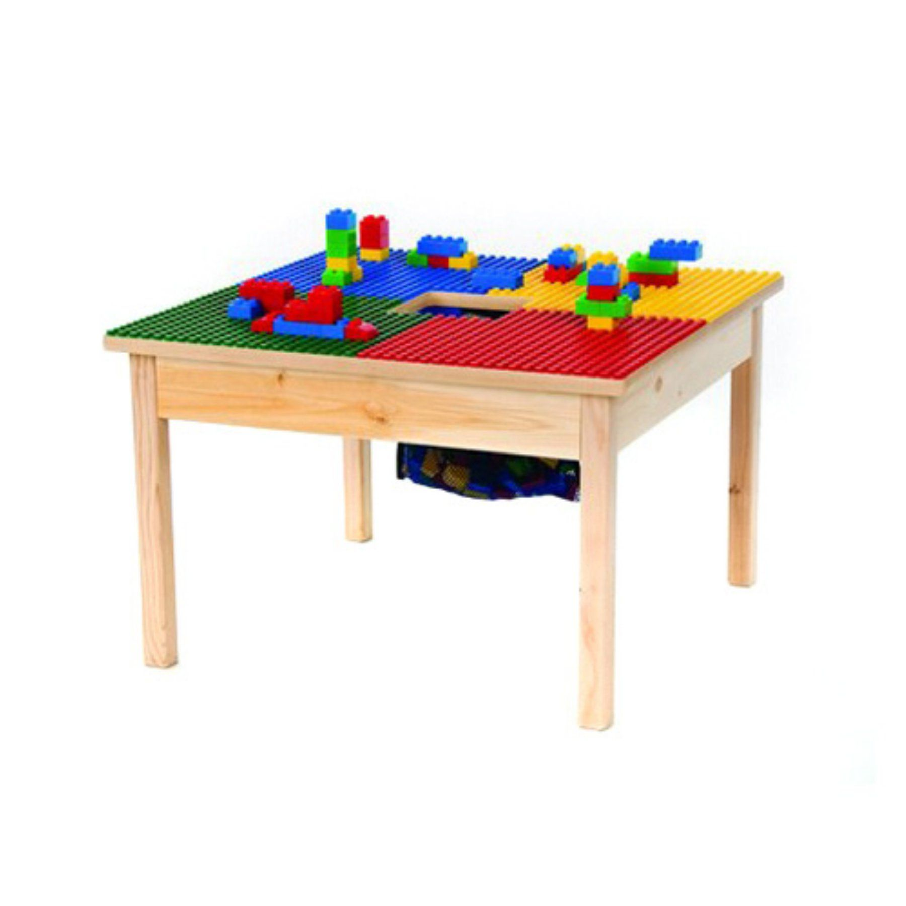 Phenomenal Fun Builder 27 X 27 In Building Block Table Syne009 Download Free Architecture Designs Sospemadebymaigaardcom